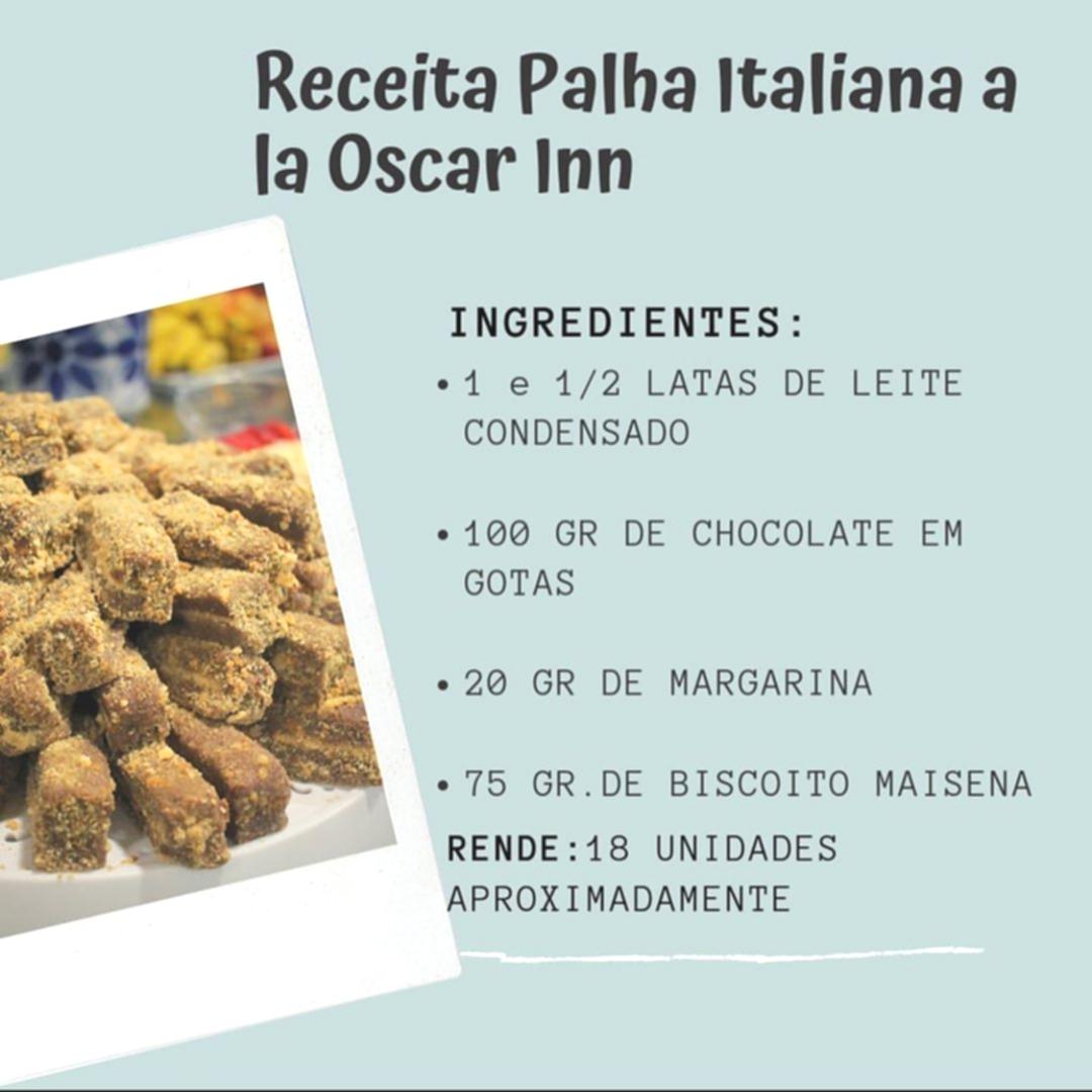 Receita Especial: Palha Italiana a la Oscar Inn
