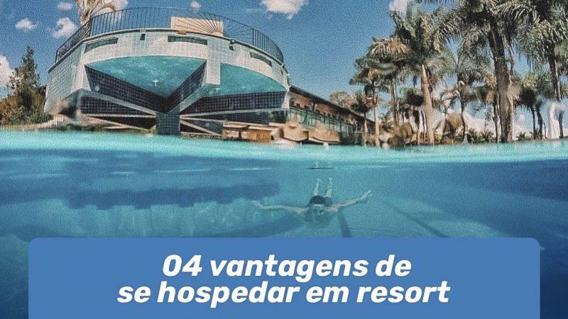 hospedar em resort